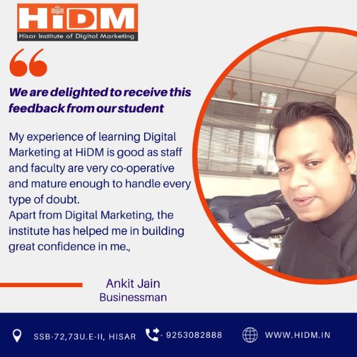 course of digital marketing in hisar
